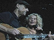 King James Prints - James Taylor and Carole King Print by Christy Gendalia