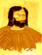 King James Posters - James the Apostle son of Zebedee 2 Poster by Richard W Linford