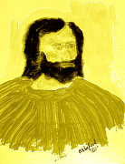 King James Posters - James the Apostle son of Zebedee 3 Poster by Richard W Linford