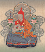 Tibet Mixed Media Prints - Jamgon Kongtrul Lodro Thaye Print by Chris  Banigan