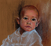 Young Pastels Prints - Jamie Print by James Skiles