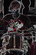 Drummer Mixed Media - Jammer  By Jrr by First Star Art