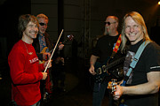 Williams Photo Originals - Jammin Backstage with KANSAS by Don Olea