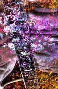 Jammin Out Digital Guitar Art By Steven Langston Print by Steven Lebron Langston