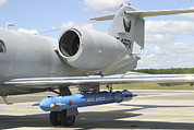 Jamming Prints - Jamming Pod On A Learjet, Hohn Air Print by Timm Ziegenthaler