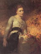 Jane Isabella Baird Print by George Elgar Hicks