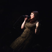 Jazz Singers Prints - Jane Monheit Print by Dailey Pike