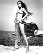 Jane Seymour In Sinbad And The Eye Of The Tiger  Print by Silver Screen