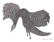 Gond Paintings - Jangarh Singh Shyam 45 LIMITED EDITION PRINTS by Jangarh Singh Shyam