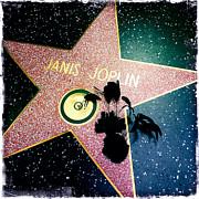 Janis Joplin Print by Nina Prommer