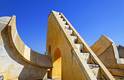 Jaipur Photos - Jantar Mantar Observatory Jaipur Rajasthan by Robert Preston