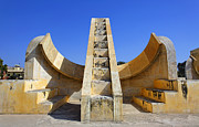 Jaipur Photos - Jantar Mantar Observatory Jaipur by Robert Preston
