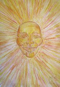 January Paintings - January Sun by Blg H