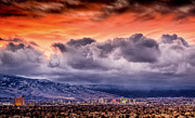 Janis Knight - January Sunset over Reno