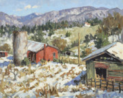 January Paintings - January Thaw by Stuart Roper
