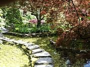 Japanese Garden Print by Denise Darby