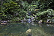 Landscape Print Prints - Japanese garden everything zen Print by David Millenheft