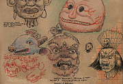 Sketchbook Originals - Japanese Grotesque by Don Michael