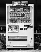 Vending Machine Photo Framed Prints - Japanese Vending Machine Framed Print by Alexander Snay