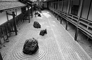 Kyoto Photos - Japanese Zen Garden by Sebastian Musial