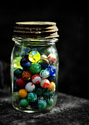 Ball Jar Prints - Jar Full of Sunshine Print by Rebecca Sherman