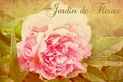 Jardin De Fleurs Print by Trina  Ansel