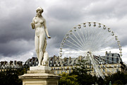 Nymph Art - Jardin des Tuileries by Fabrizio Troiani