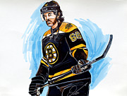 Hockey Playoffs Prints - Jaromir Jagr Boston Bruins Print by Dave Olsen