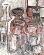 Jars Paintings - Jars by Nick Banks