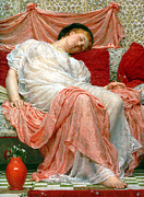 Couch Digital Art - Jasmine by Albert Joseph Moore