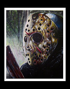 Jason Voorhees Prints - Jason Friday the 13th Print by The Art of Vinnie Peachey