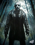 Jason Voorhees Prints - Jason Print by Tom Carlton