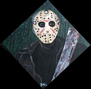 Jason Voorhees Prints - Jason Voorhees  Print by JoNeL  Art
