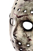 Jason Voorhees Prints - Jasons Phone Print by Benjamin Yeager