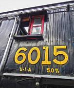 Gregory Dyer - Jasper National Park - Locomotive