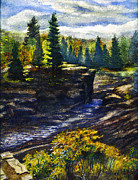 Duluth Art - Jay Cooke State Park by Rose Aune