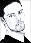 Saki Art Art - Jay Ryan - Beauty and the beast by Saki Art