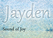 Office Decor Prints - Jayden - Sound of Joy Print by Christopher Gaston