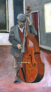 Featured Originals - Jazz Bass Player  by Yukio Iraha