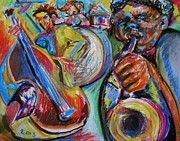 Drum Pastels - Jazz Colors by Emily Michaud