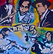 Tony B. Conscious Paintings - Jazzin it up 1 by Tony B Conscious