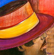 Hispanic Art Mixed Media - Jazzman by Debi Pople