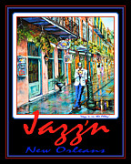 Jazz'n New Orleans Print by Dianne Parks