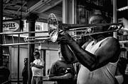 Kathleen K Parker - Jazzy Trombone Music-bw