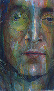 The Beatles John Lennon Posters - Jealous Guy Poster by Paul Lovering