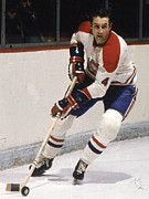 Jean Art - Jean Beliveau in action by Sanely Great