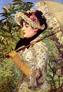 Victorian Digital Art - Jeanne by Edouard Manet