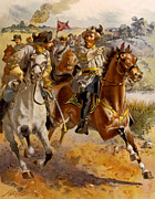 Jeb Stuart Civil War Print by Henry Alexander Ogden