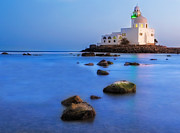 Long Exposure Framed Prints - Jeddah Corniche Mosque Framed Print by Muhammad AlMuhammady