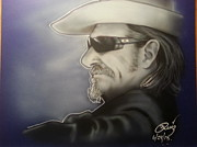 Jeff Mixed Media - Jeff Bridges by Andres Ruiz